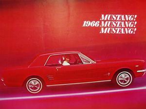 1966 Ford Mustang broschyr svensk