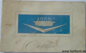 1958 Cadillac Owners Manual