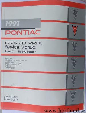 1991 Pontiac Grand Prix Service Manual