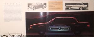 1987 Pontiac Bonneville broschyr folder