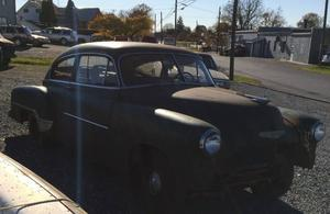 1952 Chevrolet Fleetline De Luxe Aerosedan