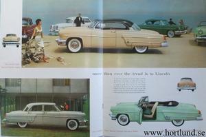 1954 Lincoln stor broschyr