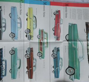 1955 Mercury broschyr
