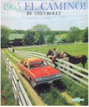 1965 Chevrolet El Camino broschyr