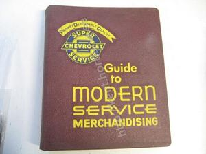 1961-1962 Chevrolet Guide to modern service merchandising