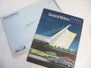 1963 GM annual report 1963 with 1964 cars