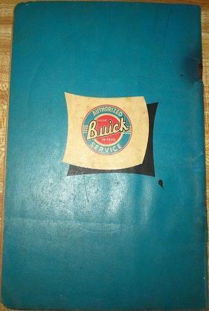 1950-1952 Buick Flat Rate Manual Body
