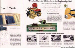 1954 Ford Crestline broschyr