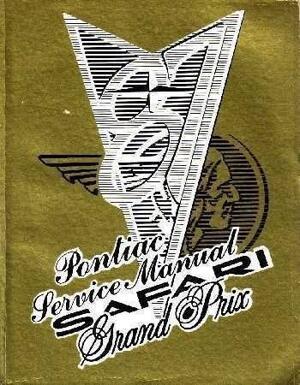 1987 Pontiac Safari Grand Prix Service Manual