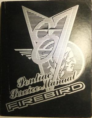 1987 Pontiac Firebird Service Manual
