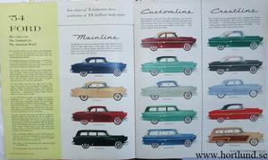 1954 Ford Stor broschyr
