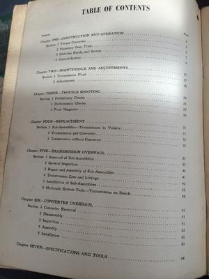 1956 Ford Car-Truck Fordomatic Shop Manual