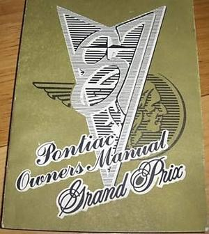 1987 Pontiac Grand Prix Owners Manual