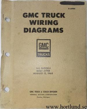 1969 GMC Truck Wiring Diagrams