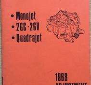 1968 Delco Rochester Adjustment Manual