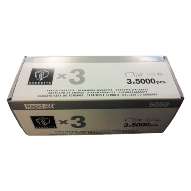 Staple cartridge Rapid 5050, 3 x 5000/pck