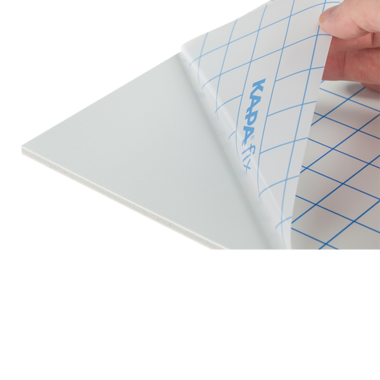 KapaFix® 5 mm, white one-side self-adhesive both sides