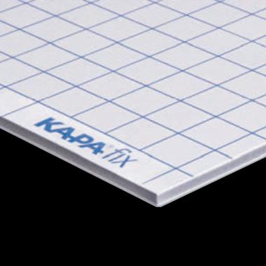 KapaFix® 10 mm, white one-side self-adhesive both sides