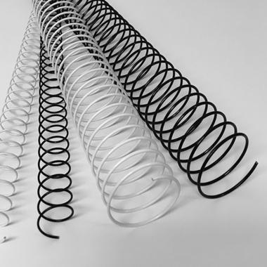 Coil 3:1 metallspiral
