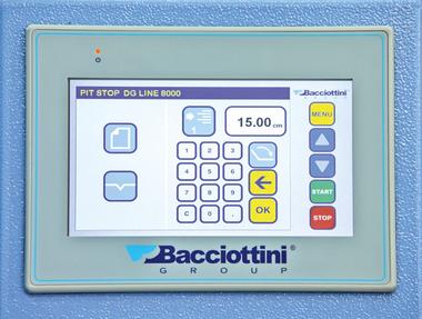 Bacciottini Pit Stop DG Line 8000