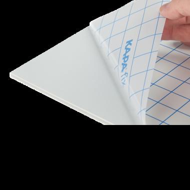 KapaFix® 10 mm, white one-side self-adhesive