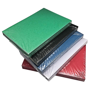 Kartongomslag i läderimitation - A4, 230-235 g/m²
