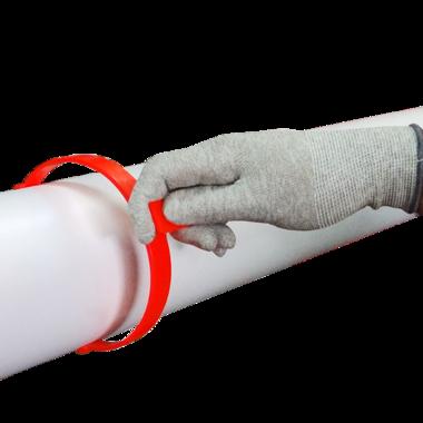 PlastGrommet Roll Clips