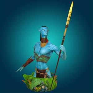 Avatar Tsu Tey Navi Warrior Mini Bust - Gentle GIant