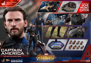 Hot Toys - Captain America Infinity War Movie Promo Edition 1/6 figure