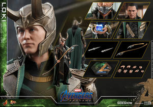 Hot Toys - Loki Avengers Endgame Sixth Scale Collectible Figure