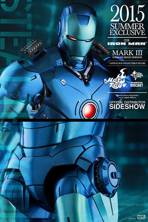 Hot Toys - Iron Man Mark III Stealth Mode Version Sixth Scale Figure 2015 Exclusive