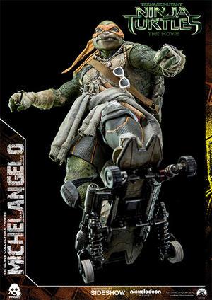 Teenage Mutant Ninja Turtles Movie Michelangelo 1:6 Scale Figure