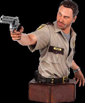 Rick Grimes The Walking Dead Mini Bust