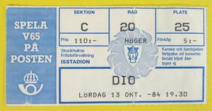 DIO - Stockholm 1984