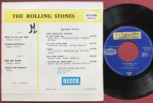 ROLLING STONES - Time is on my side +3 French EP 1964