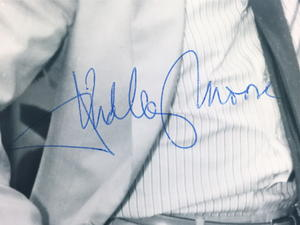 DUDLEY MOORE - Real autograph on real photo!