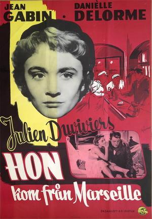 HON KOM FRÅN MARSEILLE (1956)
