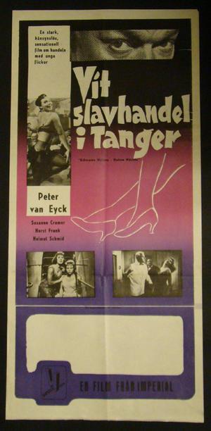 VIT SLAVHANDEL I TANGER (SUSANNE CRAMER, HORST FRANK, HELMUT SCHMID)