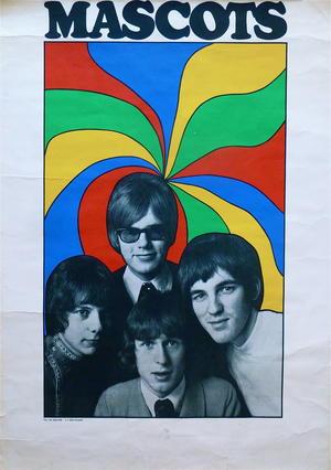 MASCOTS (1966-67) - Turneaffisch