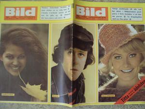 BILDJOURNALEN nr 42 1965 Claudia Cardinale/Donovan