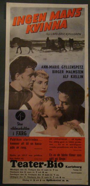 INGEN MANS KVINNA (ANN-MARIE GYLLENSPETZ, BIRGER MALMSTEN, ALF KJELLIN)