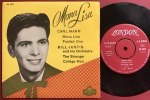 CARL MANN - Mona Lisa +3 Swe EP 1959