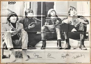BEATLES - POPBILD no 3 1965 Toppskick!