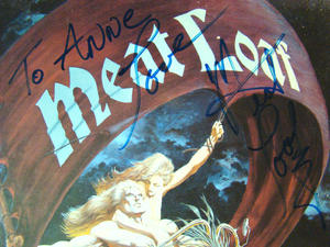 MEATLOAF Dead ringer - Signed LP PROMO!