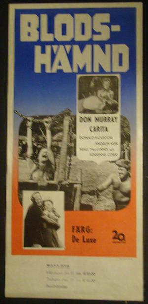 THE VIKING QUEEN (DON MURRAY, CARITA, DONALD HOUSTON)