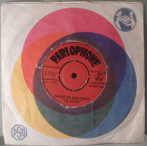 """BEATLES - A hard day´s night  7"""" Finland -64"""