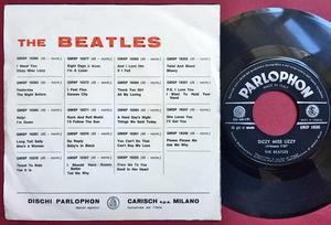 BEATLES - I need you Italy PS 1965
