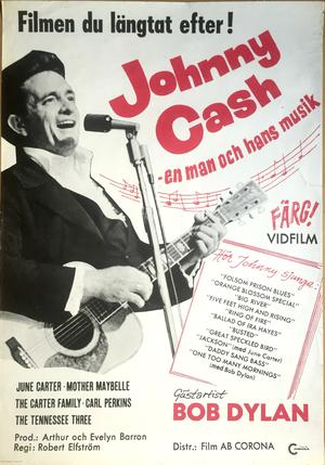 JOHNNY CASH - EN MAN & HANS MUSIK (1970)