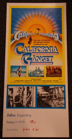 CALIFORNIA DREAMING (SEYMOUR CASSEL, DOROTHY TRISTAN)