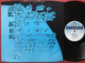JULIAN LENNON - Valotte SIGNERAD UK-orig LP 1984